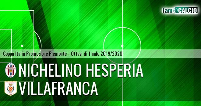 Nichelino Hesperia - Villafranca