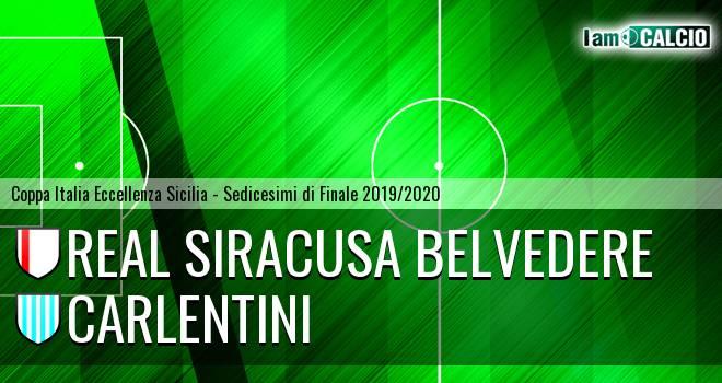 Real Siracusa Belvedere - Carlentini