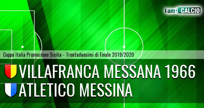Atletico Messina - Villafranca Messana 1966