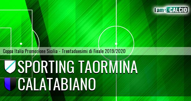 Sporting Taormina - Calatabiano
