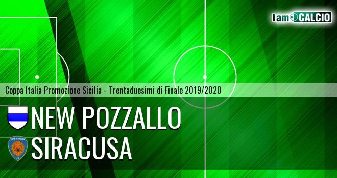 New Pozzallo - Siracusa