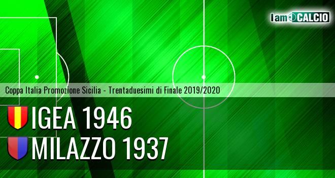 Igea 1946 - Milazzo 1937
