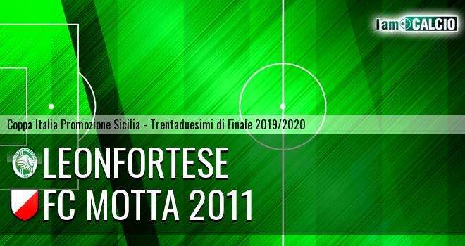 Leonfortese - FC Motta 2011
