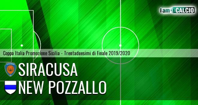 Siracusa - New Pozzallo