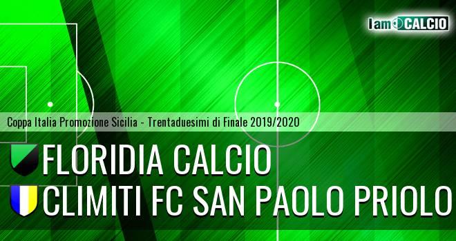 Floridia Calcio - Climiti FC San Paolo Priolo
