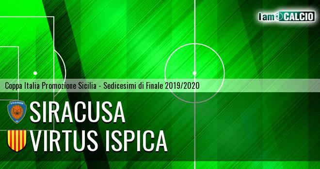 Siracusa - Virtus Ispica