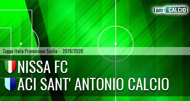 Nissa FC - Aci Sant' Antonio Calcio