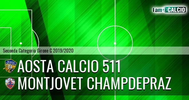 Aosta Calcio 511 - Montjovet Champdepraz