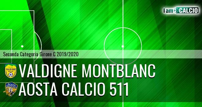 Valdigne Montblanc - Aosta Calcio 511