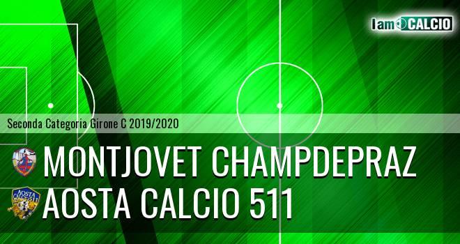 Montjovet Champdepraz - Aosta Calcio 511