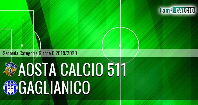 Aosta Calcio 511 - Gaglianico