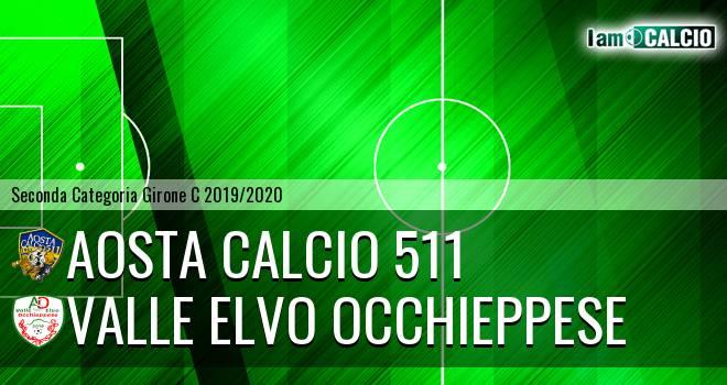 Aosta Calcio 511 - Valle Elvo Occhieppese