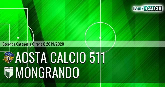 Aosta Calcio 511 - Mongrando
