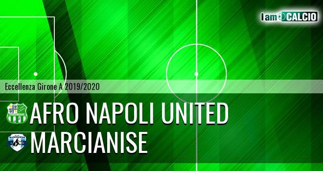 Afro Napoli United - Marcianise