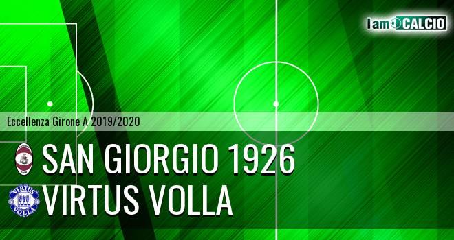 San Giorgio 1926 - Virtus Volla