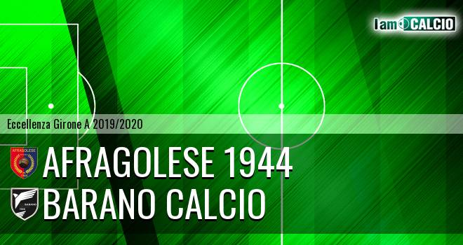 Afragolese 1944 - Barano Calcio