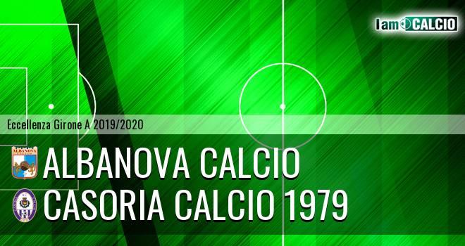 Albanova Calcio - Casoria Calcio 1979