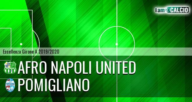 Afro Napoli United - Pomigliano