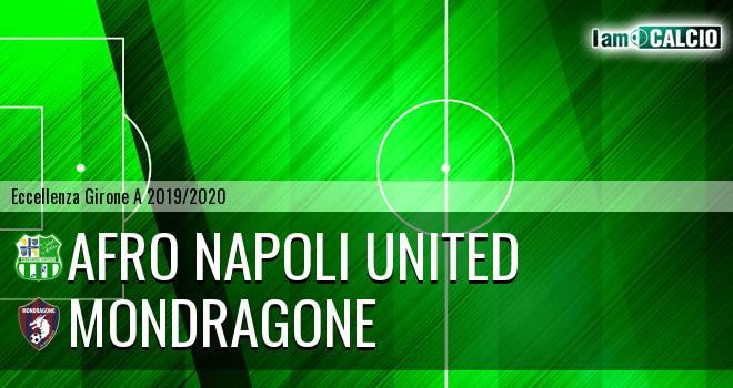 Afro Napoli United - Mondragone