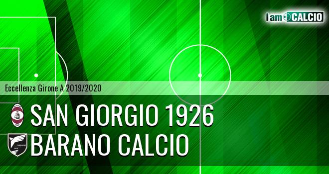 San Giorgio 1926 - Barano Calcio