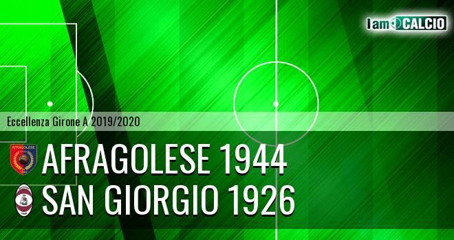 Afragolese 1944 - San Giorgio 1926