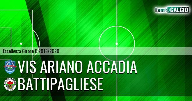 Vis Ariano Accadia - Battipagliese