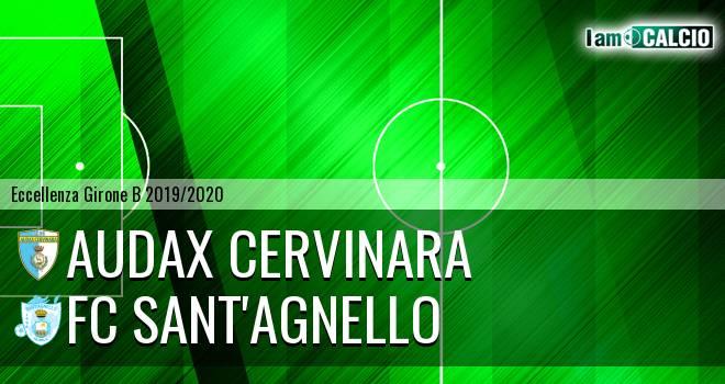 Audax Cervinara - FC Sant'Agnello