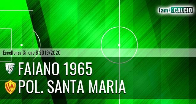 Faiano 1965 - Pol. Santa Maria