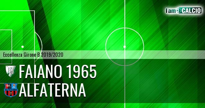 Faiano 1965 - Alfaterna