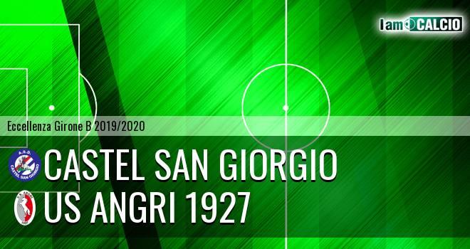 Castel San Giorgio - Us Angri 1927 0-0. Cronaca Diretta 03/11/2019