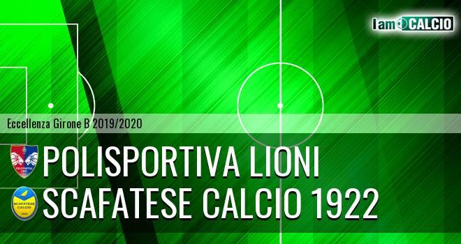 Polisportiva Lioni - Scafatese Calcio 1922