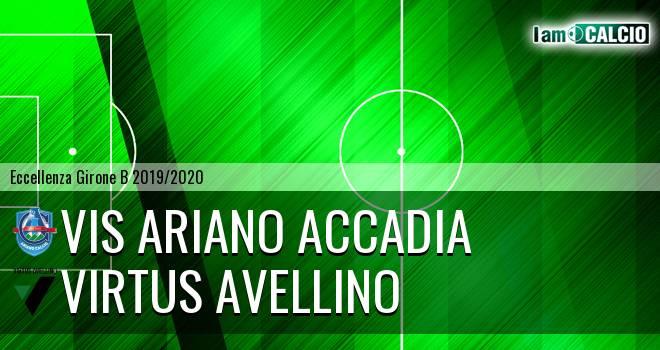 Vis Ariano Accadia - Virtus Avellino