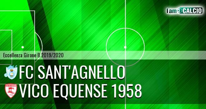 FC Sant'Agnello - Vico Equense 1958 1-0. Cronaca Diretta 09/11/2019