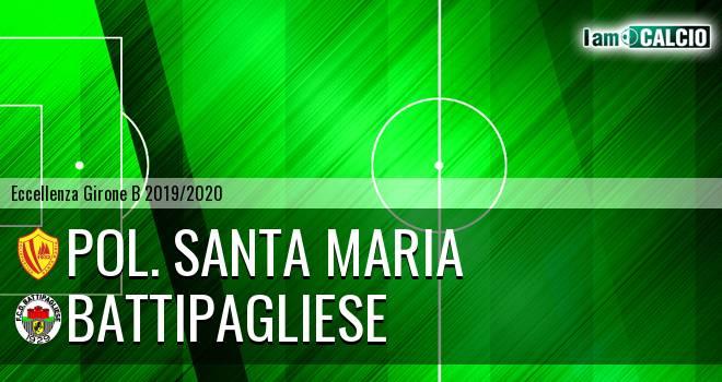 Pol. Santa Maria - Battipagliese