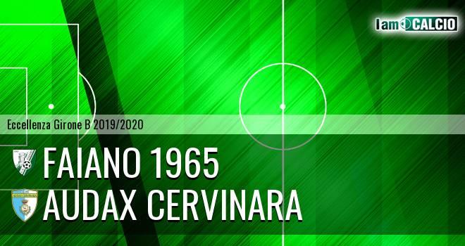 Faiano 1965 - Audax Cervinara