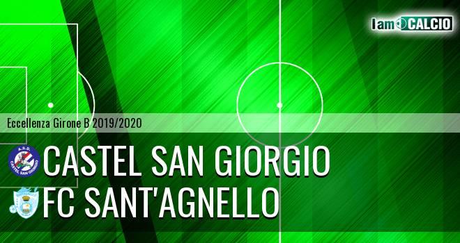 Castel San Giorgio - FC Sant'Agnello
