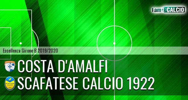 Costa d'Amalfi - Scafatese Calcio 1922 2-1. Cronaca Diretta 16/11/2019