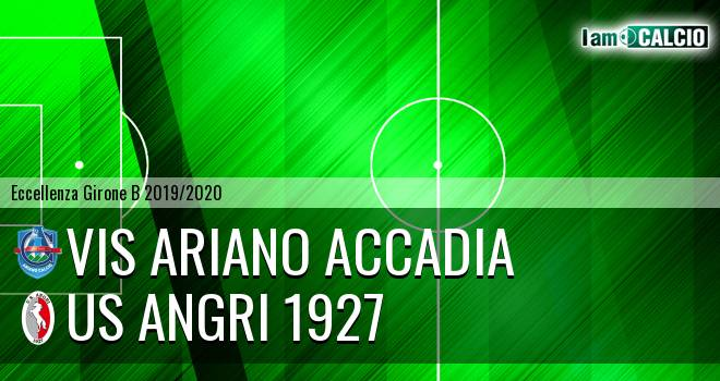 Vis Ariano Accadia - Us Angri 1927