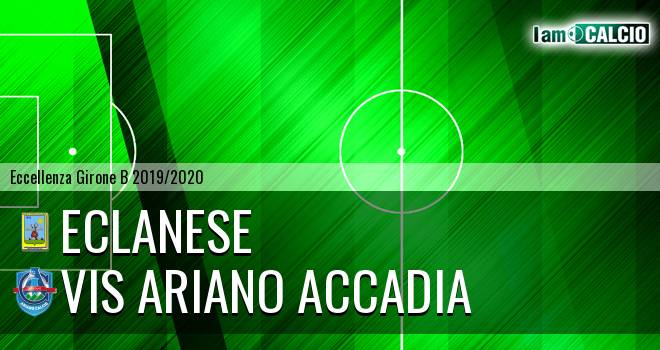Eclanese - Vis Ariano Accadia