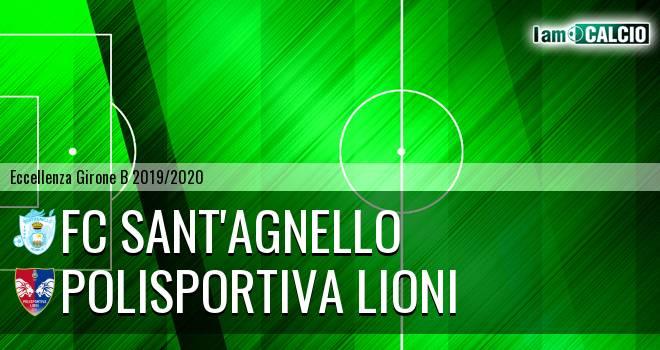 FC Sant'Agnello - Polisportiva Lioni