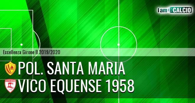 Pol. Santa Maria - Vico Equense 1958