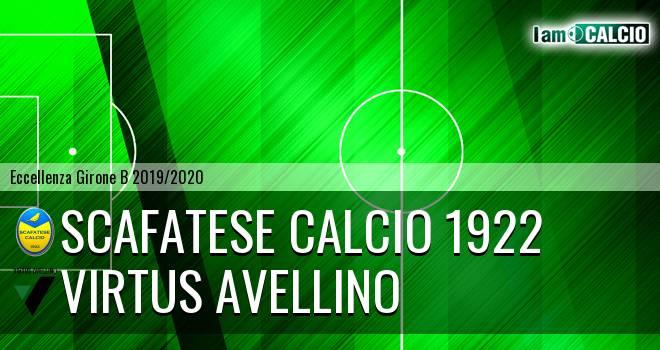 Scafatese Calcio 1922 - Virtus Avellino
