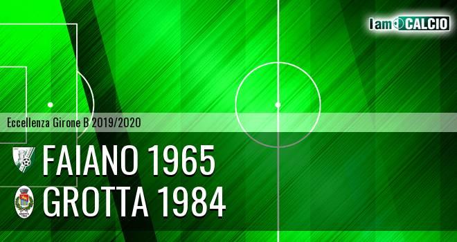 Faiano 1965 - Grotta 1984