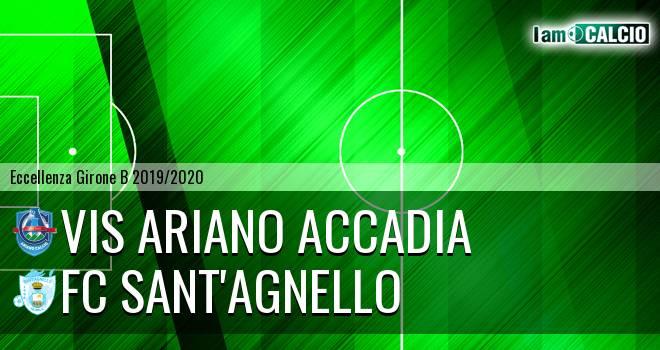 Vis Ariano Accadia - FC Sant'Agnello