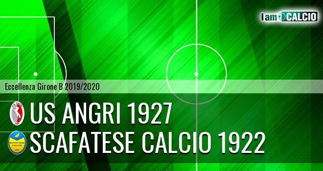 Us Angri 1927 - Scafatese Calcio 1922