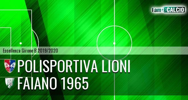 Polisportiva Lioni - Faiano 1965