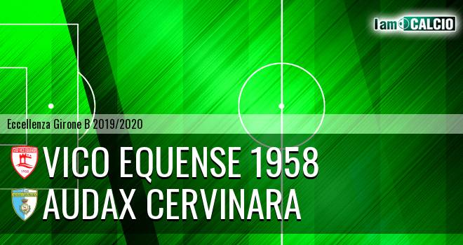 Vico Equense 1958 - Audax Cervinara