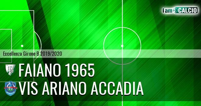 Faiano 1965 - Vis Ariano Accadia