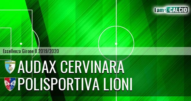 Audax Cervinara - Polisportiva Lioni