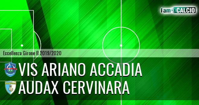 Vis Ariano Accadia - Audax Cervinara